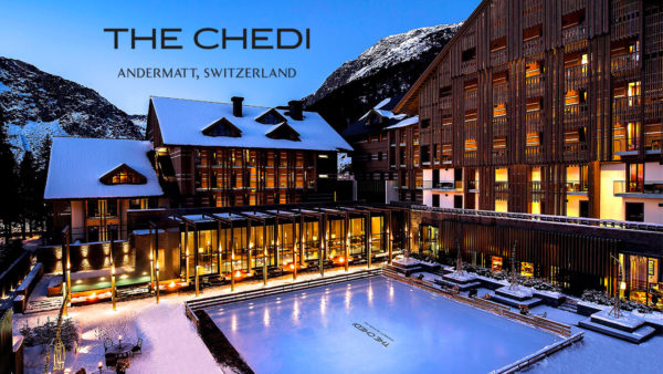 The Chedi Andermatt is a five-stars luxury hotel